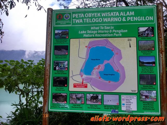 peta lokasi wisata telaga warna